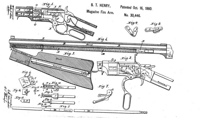 Very Popular Images 1866 Yellowboy Rifle
